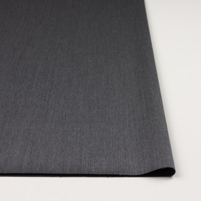 ウール&ポリウレタン×無地(チャコールグレー)×ベネシャン・ストレッチ イメージ3