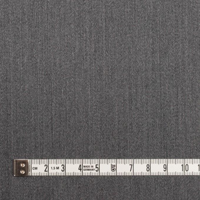 ウール&ポリウレタン×無地(チャコールグレー)×ベネシャン・ストレッチ イメージ4