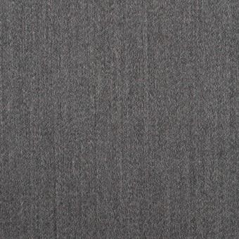 ウール&ポリウレタン×無地(チャコールグレー)×ベネシャン・ストレッチ