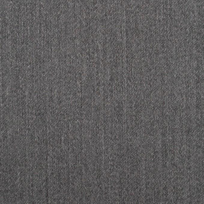 ウール&ポリウレタン×無地(チャコールグレー)×ベネシャン・ストレッチ イメージ1