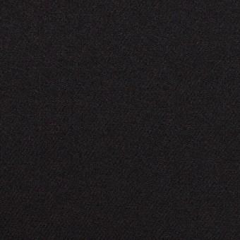 【150cmカット】ウール×無地(ブラック)×サージ