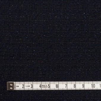 コットン&ウール混×ミックス(ダークネイビー)×ファンシーツイード サムネイル4