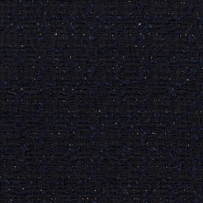 コットン&ウール混×ミックス(ダークネイビー)×ファンシーツイード イメージ1