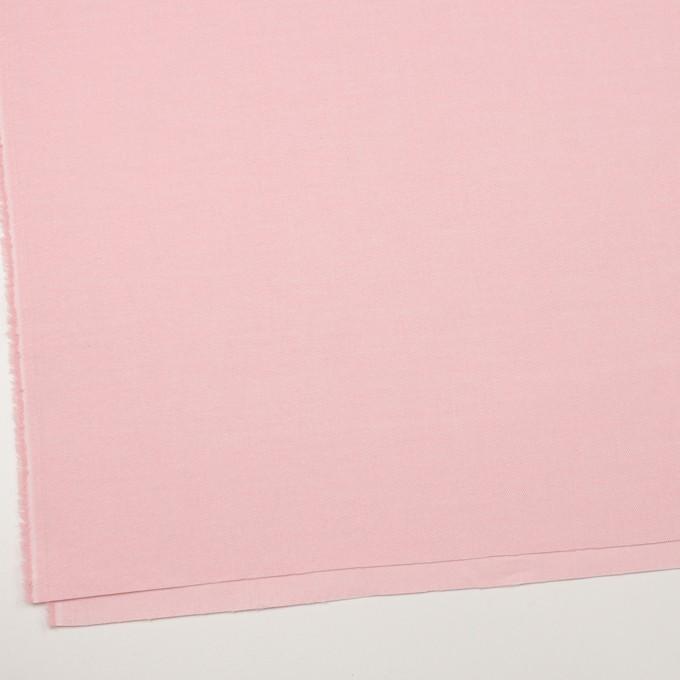コットン×無地(ピンク)×フランネル_全5色 イメージ2