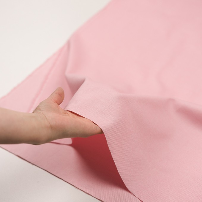 コットン×無地(ピンク)×フランネル_全5色 イメージ5