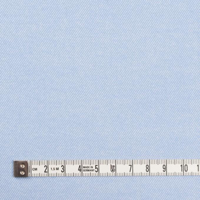 コットン×無地(サックス)×フランネル_全5色 イメージ4