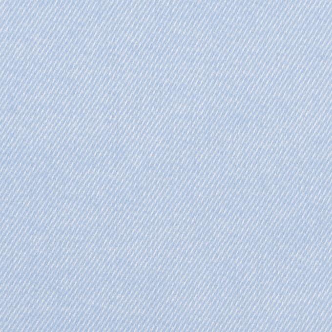 コットン×無地(サックス)×フランネル_全5色 イメージ1