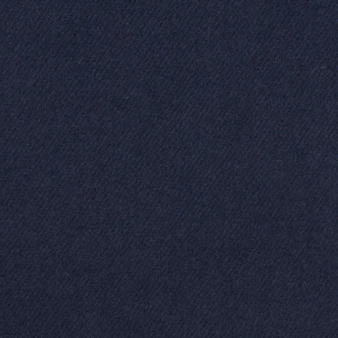 コットン×無地(ネイビー)×フランネル_全5色 イメージ1