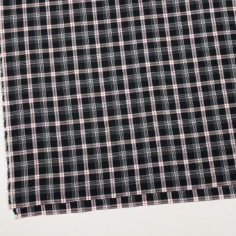 コットン×チェック(ブラック、レッド&グレー)×ビエラ サムネイル2