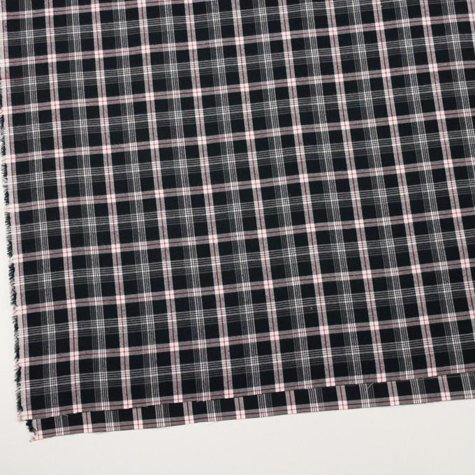 コットン×チェック(ブラック、レッド&グレー)×ビエラ イメージ2
