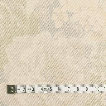 コットン&ポリエステル混×フラワー(カスタード)×チノクロス・ストレッチ サムネイル4