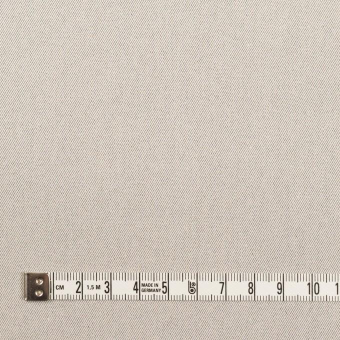 コットン×無地(オイスターグレー)×シャンブレー・サージ イメージ4