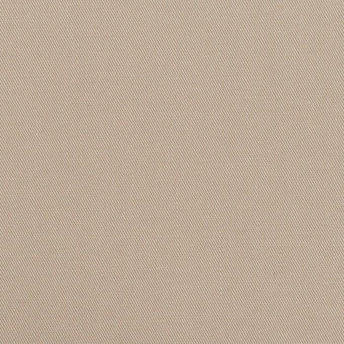 コットン×無地(グレイッシュベージュ)×サージ イメージ1