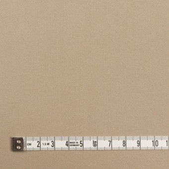 コットン&ポリウレタン×無地(カーキベージュ)×サテンストレッチ サムネイル4