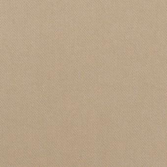 コットン&ポリウレタン×無地(カーキベージュ)×サテンストレッチ サムネイル1