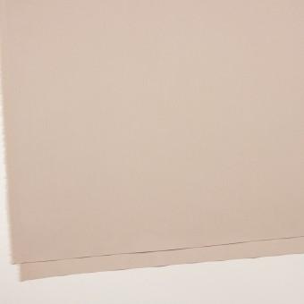 コットン&ポリエステル混×無地(ウォームベージュ)×二重織ストレッチ サムネイル2