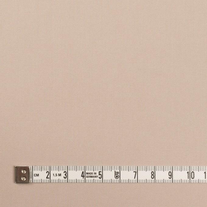 コットン&ポリエステル混×無地(ウォームベージュ)×二重織ストレッチ イメージ4