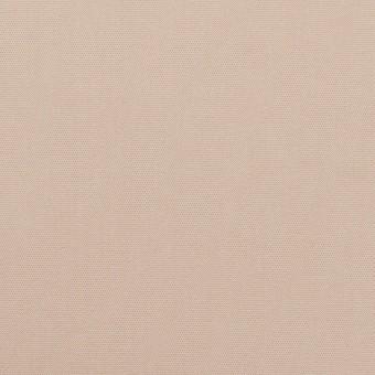 コットン&ポリエステル混×無地(ウォームベージュ)×二重織ストレッチ