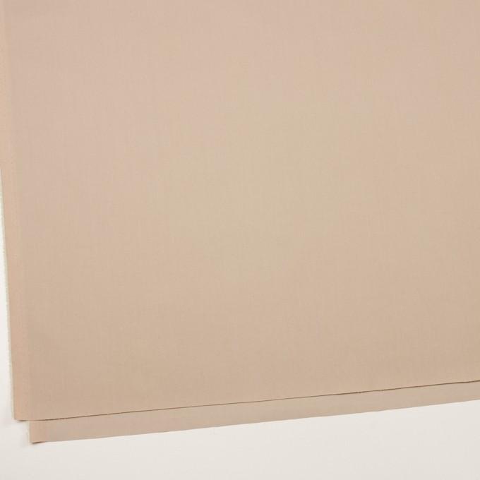 コットン&ナイロン混×無地(ベージュ)×シャンブレー・サージストレッチ イメージ2
