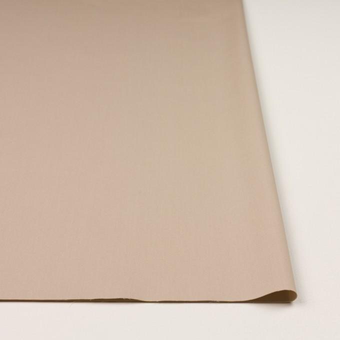 コットン&ナイロン混×無地(ベージュ)×シャンブレー・サージストレッチ イメージ3