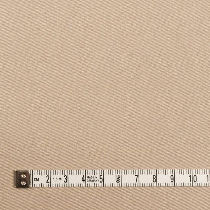 コットン&ナイロン混×無地(ベージュ)×シャンブレー・サージストレッチ イメージ4