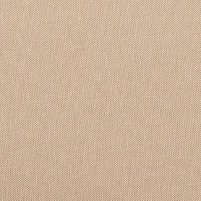コットン&ナイロン混×無地(ベージュ)×シャンブレー・サージストレッチ イメージ1