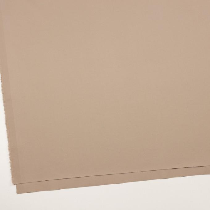 コットン&ポリウレタン×無地(スモーキーベージュ)×サージストレッチ イメージ2