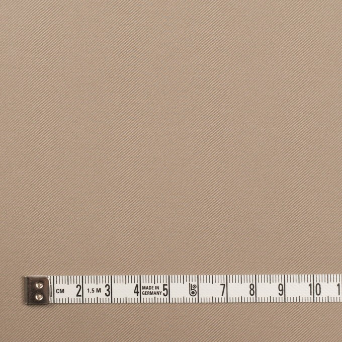 コットン&ポリウレタン×無地(スモーキーベージュ)×サージストレッチ イメージ4