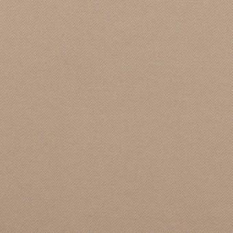 コットン&ポリウレタン×無地(スモーキーベージュ)×サージストレッチ サムネイル1