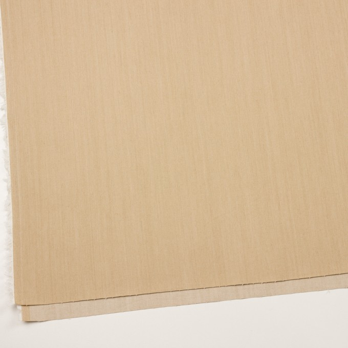 コットン&ポリウレタン×無地(サンドベージュ)×シャンブレー・チノクロス・ストレッチ イメージ2