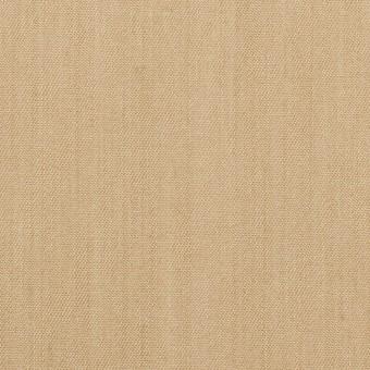 コットン&ポリウレタン×無地(サンドベージュ)×シャンブレー・チノクロス・ストレッチ サムネイル1