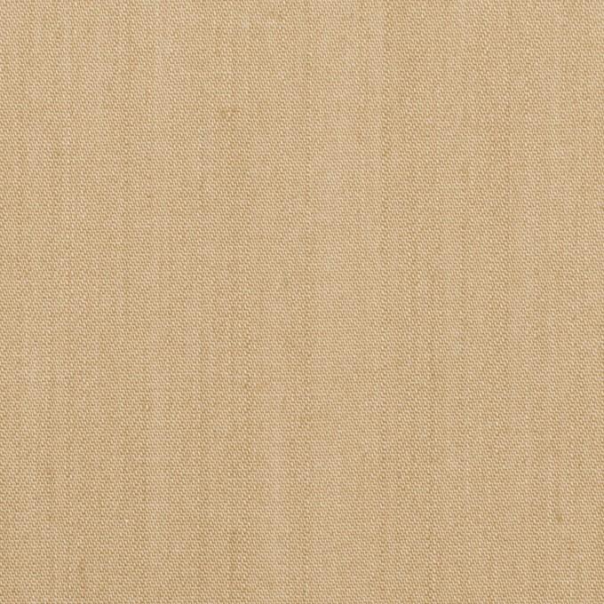 コットン&ポリウレタン×無地(サンドベージュ)×シャンブレー・チノクロス・ストレッチ イメージ1