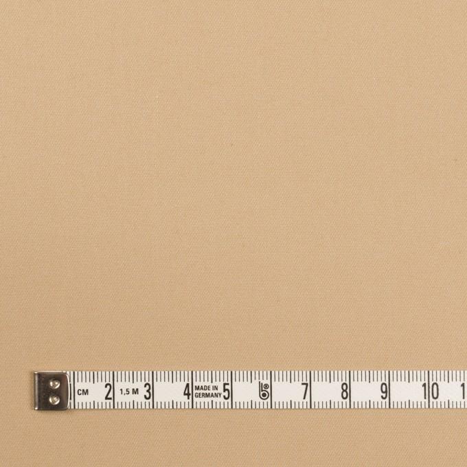 ポリエステル&コットン混×無地(サンドベージュ)×サージストレッチ イメージ4