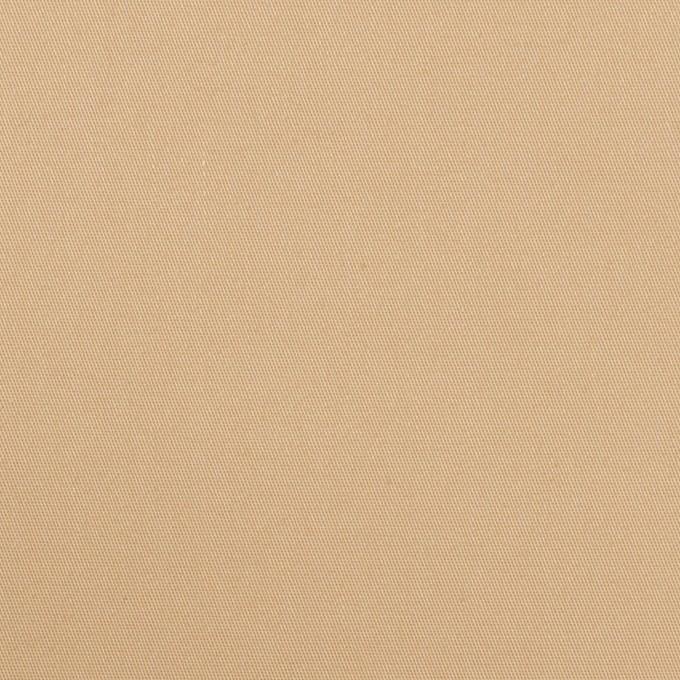 ポリエステル&コットン混×無地(サンドベージュ)×サージストレッチ イメージ1