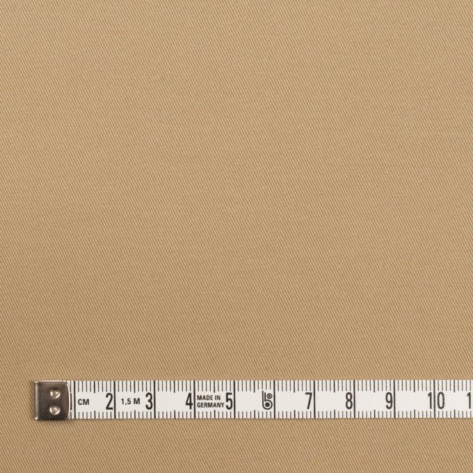 コットン&ポリウレタン×無地(オークルベージュ)×チノクロス・ストレッチ イメージ4
