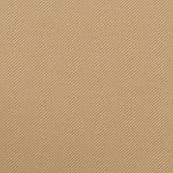 コットン&ポリウレタン×無地(オークルベージュ)×チノクロス・ストレッチ サムネイル1