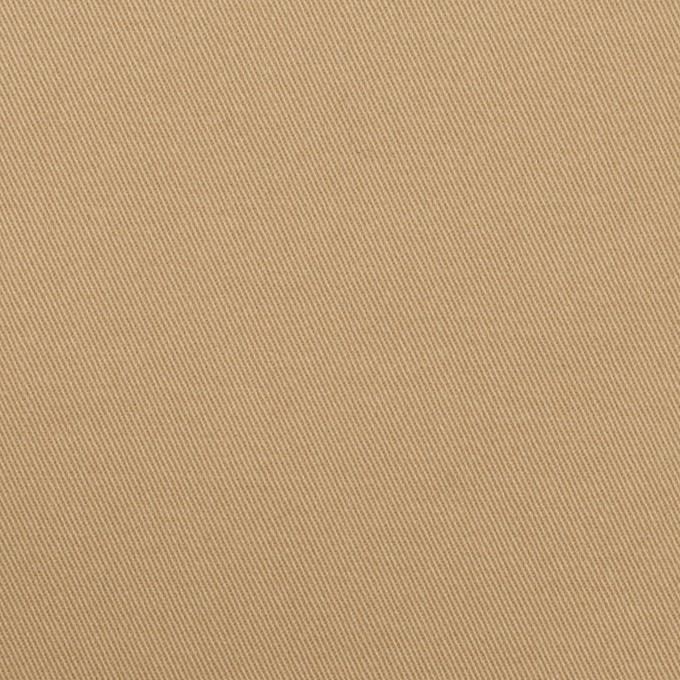 コットン&ポリウレタン×無地(オークルベージュ)×チノクロス・ストレッチ イメージ1