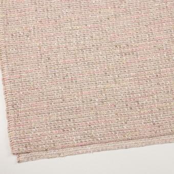 アクリル&ポリエステル混×ミックス(ピンク)×ファンシーツイード_全2色 サムネイル2