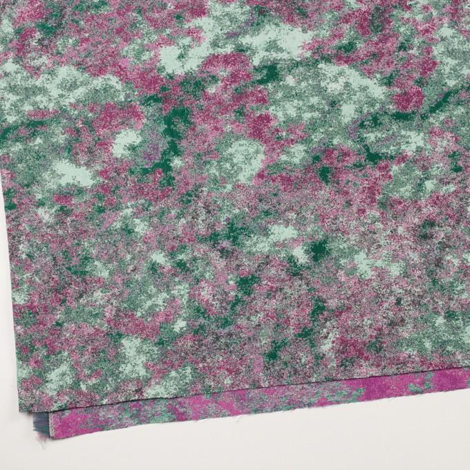 ポリエステル×ミックス(ベリー&グリーン)×二重織ジャガード_全2色 イメージ2
