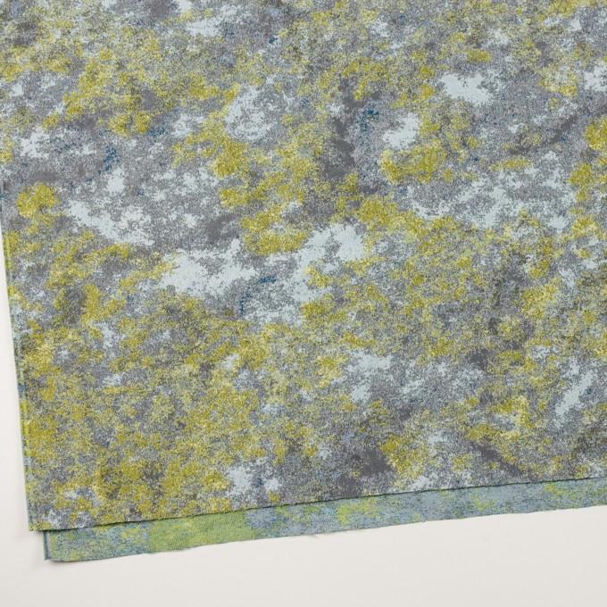 ポリエステル×ミックス(レモン&グレー)×二重織ジャガード_全2色 イメージ2