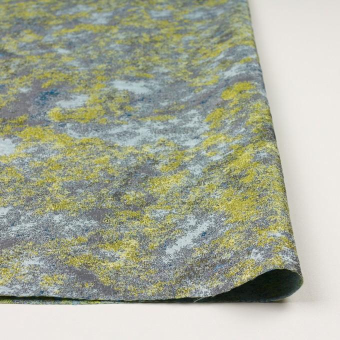 ポリエステル×ミックス(レモン&グレー)×二重織ジャガード_全2色 イメージ3