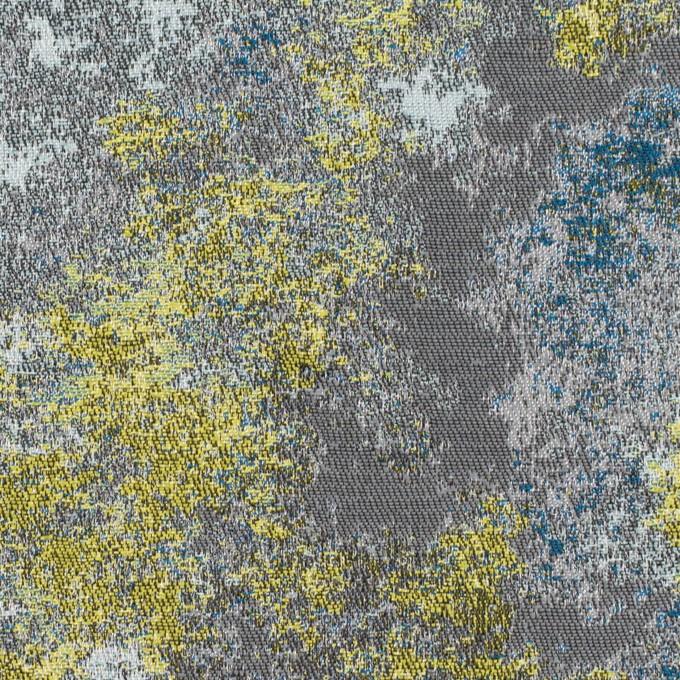 ポリエステル×ミックス(レモン&グレー)×二重織ジャガード_全2色 イメージ1
