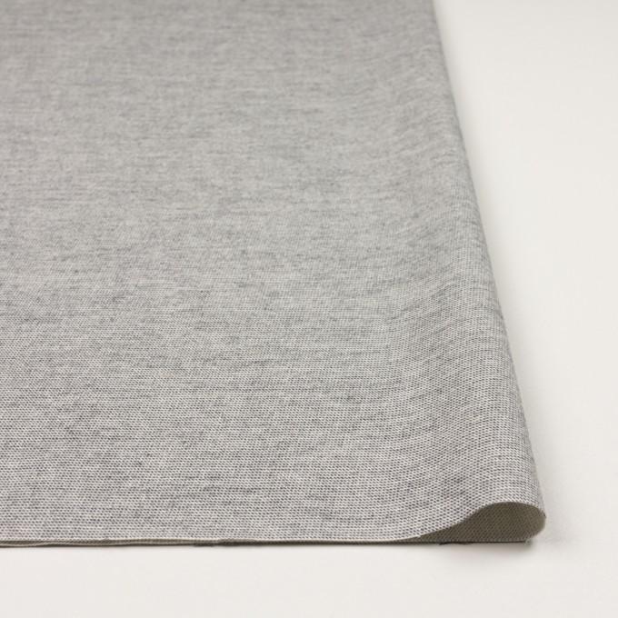 コットン&ポリウレタン×ミックス(グレー)×かわり織ストレッチ イメージ3