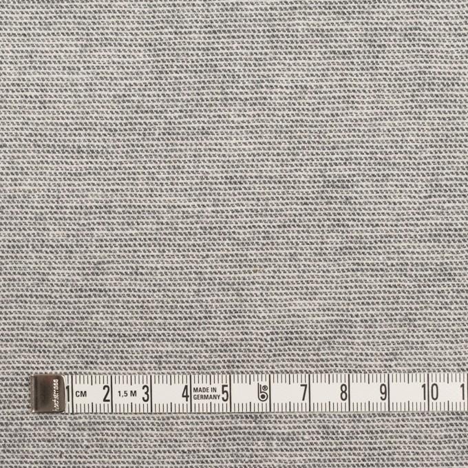 コットン&ポリウレタン×ミックス(グレー)×かわり織ストレッチ イメージ4