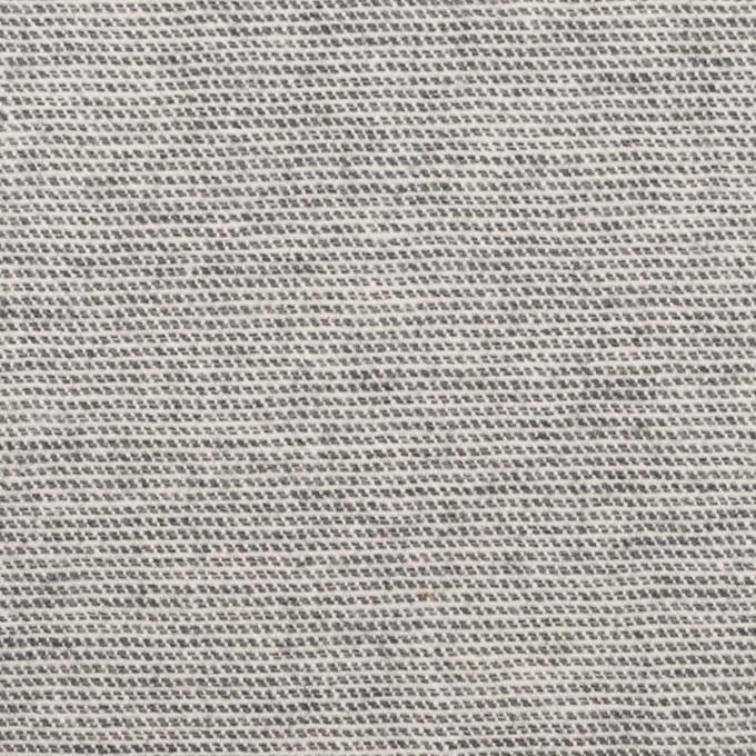 コットン&ポリウレタン×ミックス(グレー)×かわり織ストレッチ イメージ1