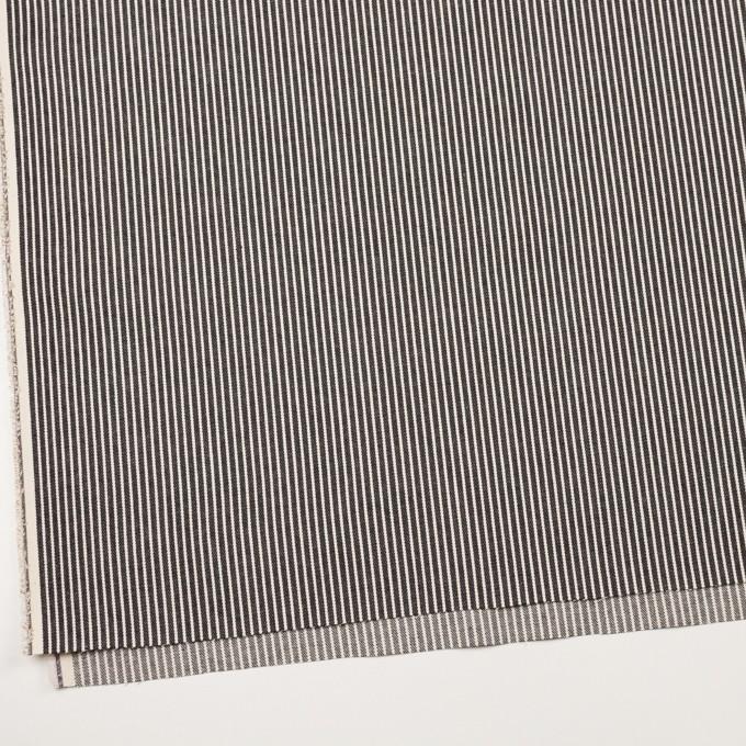 コットン×ストライプ(キナリ&ディープインディゴ)×デニムヒッコリー(10oz) イメージ2