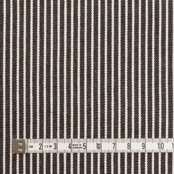 コットン×ストライプ(キナリ&ディープインディゴ)×デニムヒッコリー(10oz) サムネイル4
