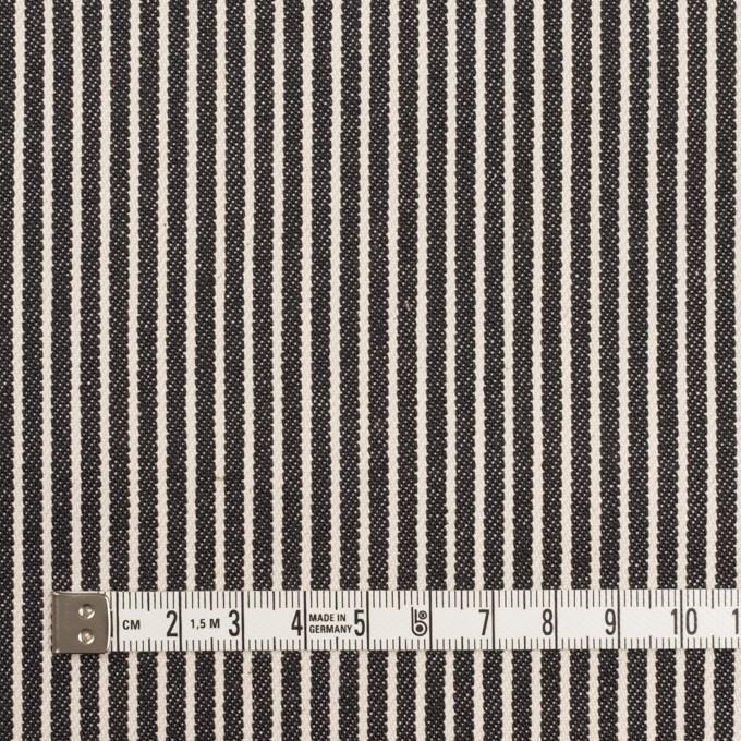 コットン×ストライプ(キナリ&ディープインディゴ)×デニムヒッコリー(10oz) イメージ4