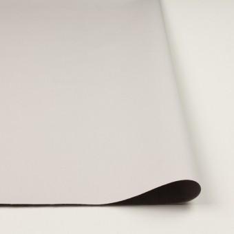 コットン&ポリエステル混×無地(アイボリー&グレー)×ギャバジン&ブロード(ボンディング)_全2色_イタリア製 サムネイル3