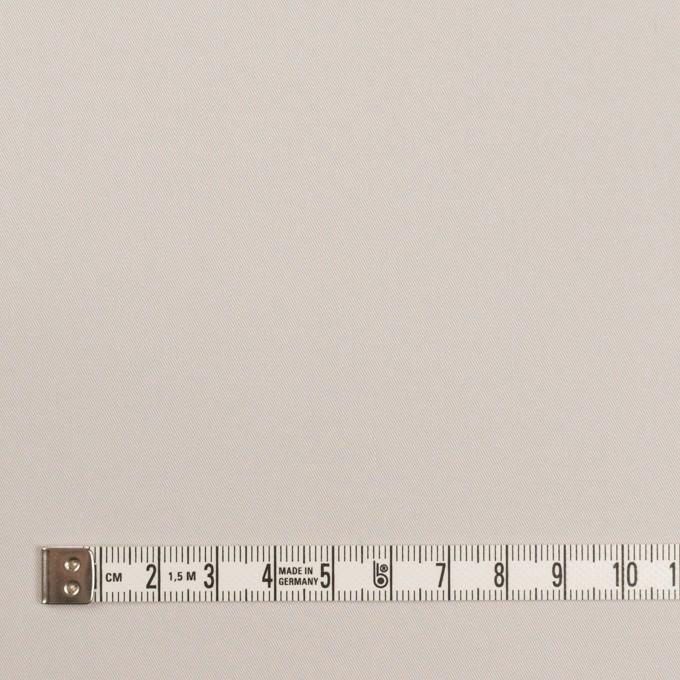 コットン&ポリエステル混×無地(アイボリー&グレー)×ギャバジン&ブロード(ボンディング)_全2色_イタリア製 イメージ4